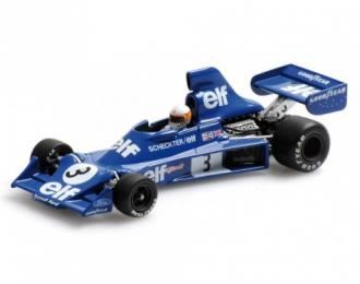 TYRRELL Ford 007 1975 Jody Scheckter, L.e. 1392 pcs., blue
