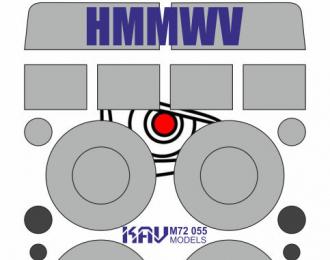Окрасочная маска на HMMWV (T-Model)