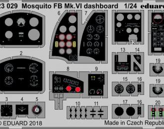Фототравление для Mosquito FB Mk. VI приборная доска