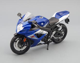 SUZUKI GSX-R750, blue/ black / white