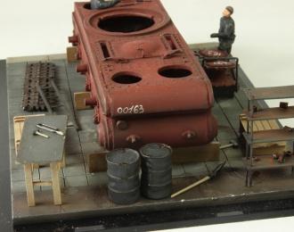 Производство танка КВ (композиция)