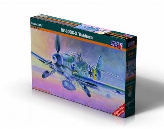 """Сборная модель Самолет BF-109G-5 """"Bakhorn"""""""