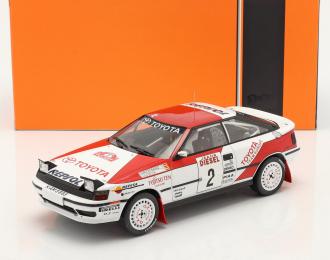 "TOYOTA Celica GT-Four (ST165) #2 ""Marlboro team"" C.Sainz/L.Moya Rally San Remo (1990)"