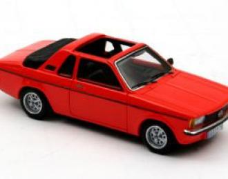 OPEL  Kadett C Aero 1978, red