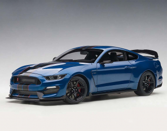 Ford Shelby Mustang GT350R 2017 (blue)