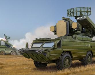 Сборная модель ЗРК ОСА 9К-33 (SA-8 GECKO)