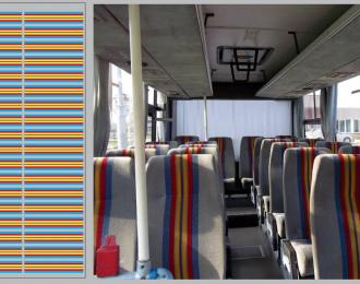 Набор декалей Декор для сидений Икарус (голубые)(100х140)
