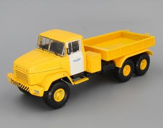 КРАЗ 6446 Балластный тягач Аэрофлот, желтый