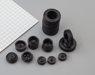 Резина, диски для ЗИЛ 164 4х2, компл. из 5 колес