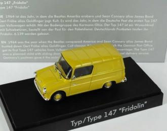 VOLKSWAGEN Typ 147 Fridolin, yellow