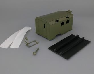 Надстройка Санитарный КУНГ для Горький-66, хаки