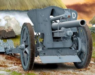 Сборная модель Немецкая полевая гаубица Fh18 10,5 cm