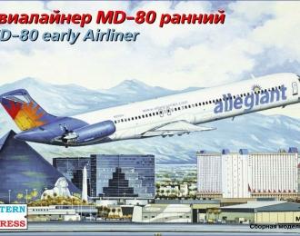 Сборная модель Авиалайнер MD-80 ранний Allegiant