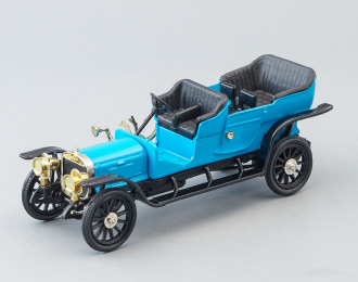 Руссо-балт Дубль-Фаэтон С24/30 (1909), голубой / черный