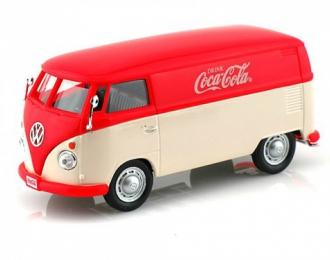 VOLKSWAGEN Transporter T1 1962 Coca-Cola, красный/белый