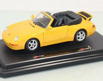 PORSCHE 911 Carrera Cabriolet, yellow