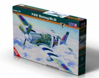 Сборная модель Самолет P-51B Mustang Mk.III