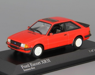FORD Escort III XR3i (1982), red