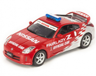 NISSAN Fairlady Z Nismo S-Tune Official Car, short red