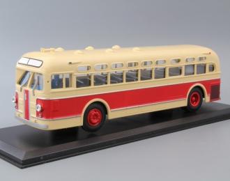ЗИС 154 (1946-1950), бежевый c красной полосой