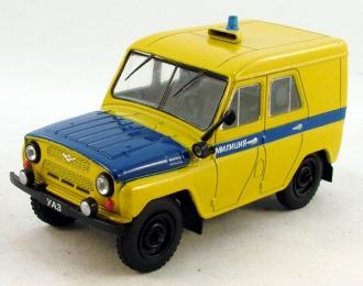 УАЗ 469 ППС, Автомобиль на службе 48, желтый