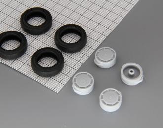Резина, диски для Горький 24-10 (И-195), комплект 4 колеса