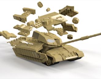 Сборная модель Quickbuild Challenger Tank Desert