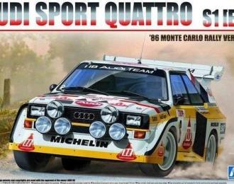Сборная модель Audi Sport Quattro S1 E2 1986 Monte Carlo Rally