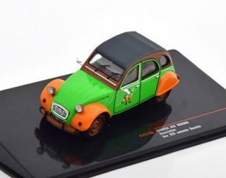 CITROEN 2 CV (1978), green / orange