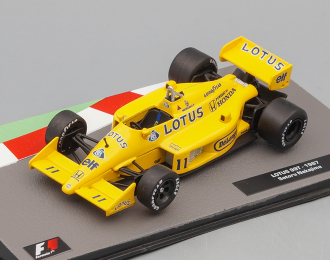 Lotus 99T 1987 Сатору Накаджимы, Formula 1 Auto Collection 9