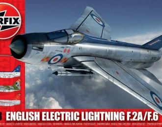 Сборная модель Британский истребитель-перехватчик English Electric (BAC) Lightning F.2A/F.6