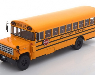 GMC 6000 School Bus (1990), yellow