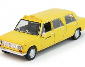 ВАЗ 2101 Лимузин Такси (Куба), Автолегенды СССР 201, желтый