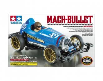 Сборная модель JR MACH-BULLET Формула-1, 50-х годов. С фигуркой водителя