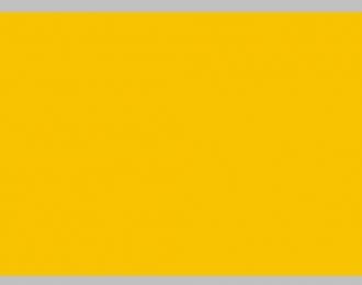 Декаль Цветовое поле (желтый), 195x85