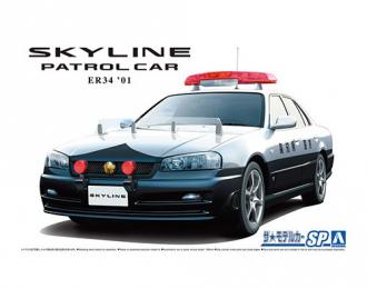 Сборная модель Nissan Skyline ER34 01 Patrol Car