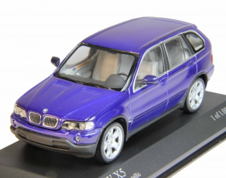 BMW X5 4.4i E53 (1999), purple metallic