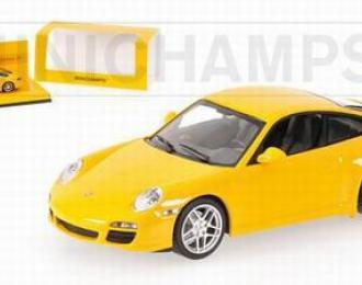 PORSCHE 911 Carrera (997) «Linea Giallo» 2008,  yellow