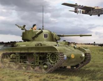 Сборная модель M22 Locust (T9E1) Airborne Tank (British Version)