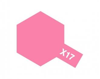 X-17 Pink (краска эмалевая, розовый глянцевый), 10мл.
