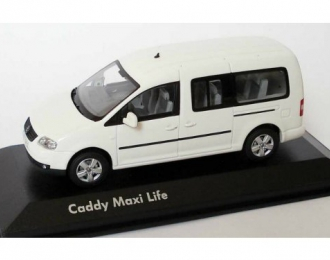 VOLKSWAGEN Caddy III Maxi Life candy, white