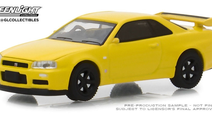 NISSAN Skyline GT-R (BNR34) 2001 Lightning Yellow