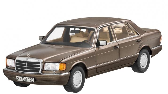 MERCEDES-BENZ 560 SEL V126 (W126) 1985 brown met