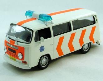 VOLKSWAGEN T2b, Полицейские Машины Мира 17, белый