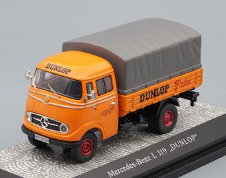 MERCEDES-BENZ L319 Dunlop, orange / grey