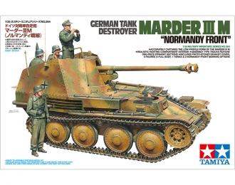 Сборная модель Самоходная установка MARDER III M (Нормандский фронт) с 5 фигурами и фототравлением