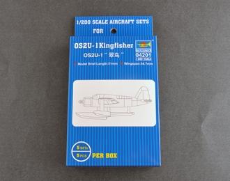 Сборная модель OS2U-1 Kingfisher американский разведывательный гидроплан