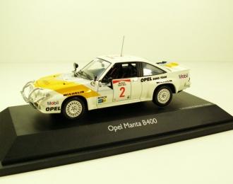 OPEL Manta B400 #2 Aaltonen Safari Rallye (1985), white