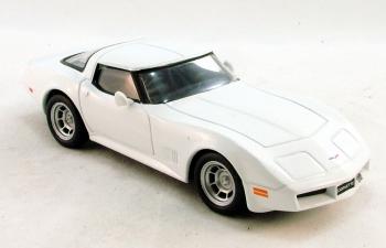 CHEVROLET Corvette Stingray (1973), Суперкары 63, белый