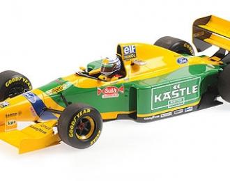 BENETTON FORD B193 - RICARDO PATRESE - 3RD PLACE BRITISH GP 1993